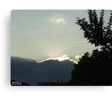 SunDown 4 Canvas Print