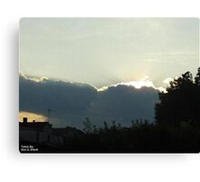 SunDown 5 Canvas Print