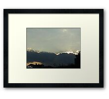 SunDown 6 Framed Print