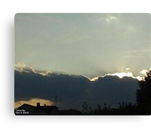 SunDown 6 Canvas Print
