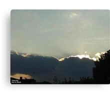 SunDown 7 Canvas Print
