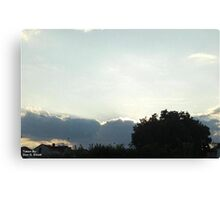 SunDown 9 Canvas Print