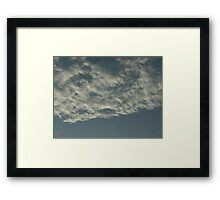 Sky Or Ocean ?  3 Framed Print