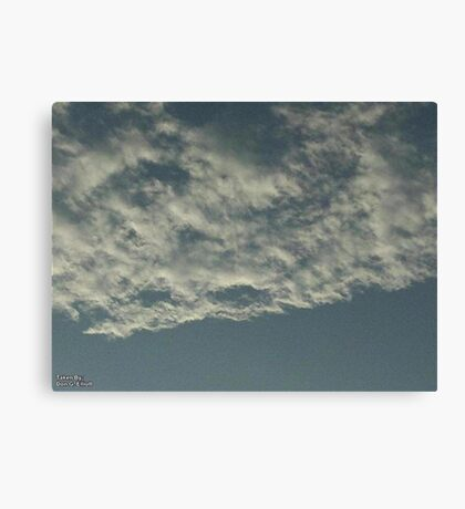 Sky Or Ocean ?  3 Canvas Print