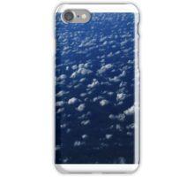 White puffy clouds iPhone Case/Skin