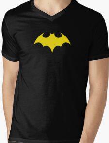 Batgirl Symbol Black Mens V-Neck T-Shirt
