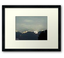 SunDown  Collection  Framed Print