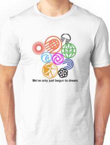 Epcot Center Classic Pavilion Logos  Unisex T-Shirt