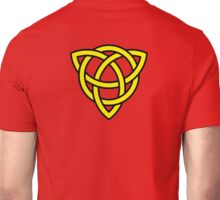 Yellow Celtic Knot Unisex T-Shirt