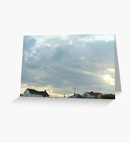SunDown  Collection  Greeting Card