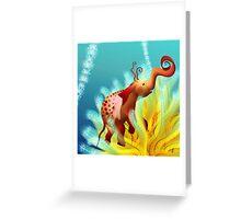 elephantus Tarax. seminis flos 2 Greeting Card