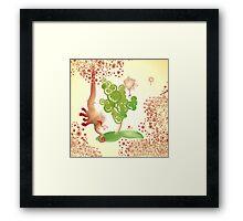 elephantus Tarax. seminis flos Framed Print