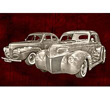 two classics Photographic Print