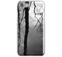 Wetland Reflections 48 BW iPhone Case/Skin