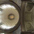 Paris Pantheon photo stitch by Peter Ames