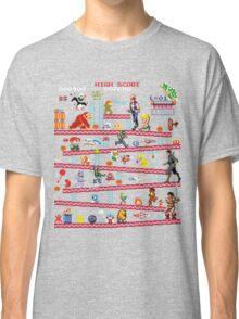 1980s Arcade Heroes Classic T-Shirt