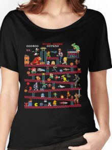 1980s Arcade Heroes Women's Relaxed Fit T-Shirt