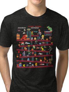 1980s Arcade Heroes Tri-blend T-Shirt