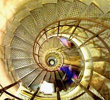 Spiral staircase by Peter Ames