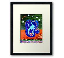 The Avatar Framed Print