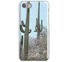Saguaros 2 iPhone Case/Skin