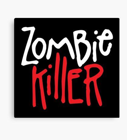 Zombie Killer Canvas Print