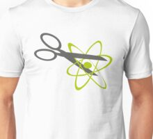 Splitting the atom Unisex T-Shirt
