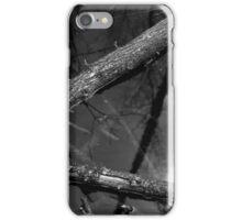 Wetland Triangle BW iPhone Case/Skin