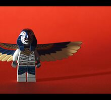 Lego Zombie Pharoah by weglet