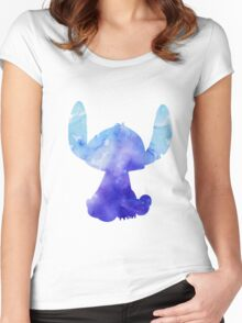 Stitch Women's Fitted Scoop T-Shirt