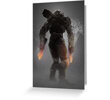 Halo Master Chief Weapons Hot Greeting Card