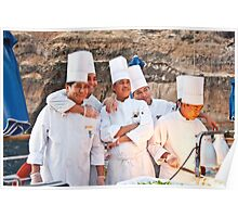 Friendly Chefs Poster