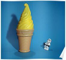 Stormtrooper IceCream Poster