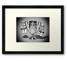 Stormtrooper Trophy Winners Framed Print