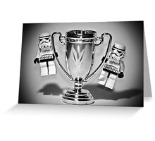 Stormtrooper Trophy Winners Greeting Card