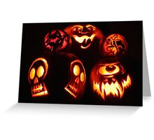 Jack O Lanterns - Happy Halloween Greeting Card
