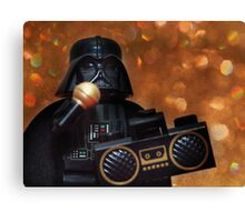 Darth Vader Karaoke Canvas Print