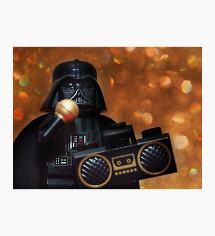 Darth Vader Karaoke Photographic Print