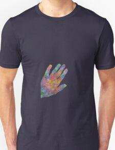 handful of roses (black background) Unisex T-Shirt