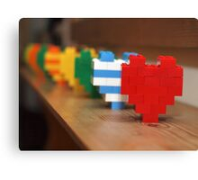 lego hearts Canvas Print