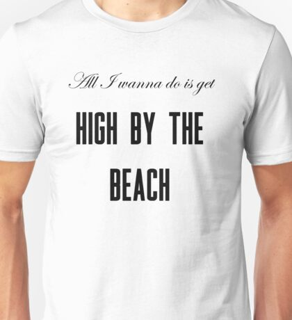 Lana Del Rey High By The Beach Unisex T-Shirt