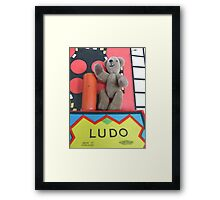 King of Ludo World Framed Print