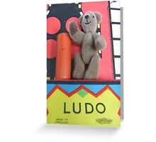 King of Ludo World Greeting Card