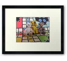 The Ludo Gang's All Here Framed Print