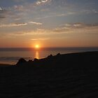Sand Dunes - Sunset by Payne24