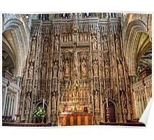 Winchester Cathedral Reredos (altar screen) Poster