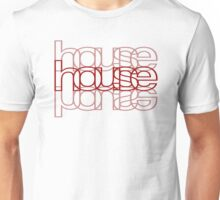 House Mirror Red Unisex T-Shirt