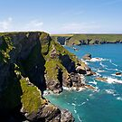 Hell's Mouth on the North Cliffs by Alex Cassels