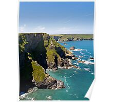 Hell's Mouth on the North Cliffs Poster