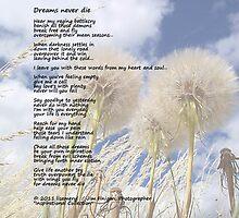 Dreams never die by Jimmy Joe